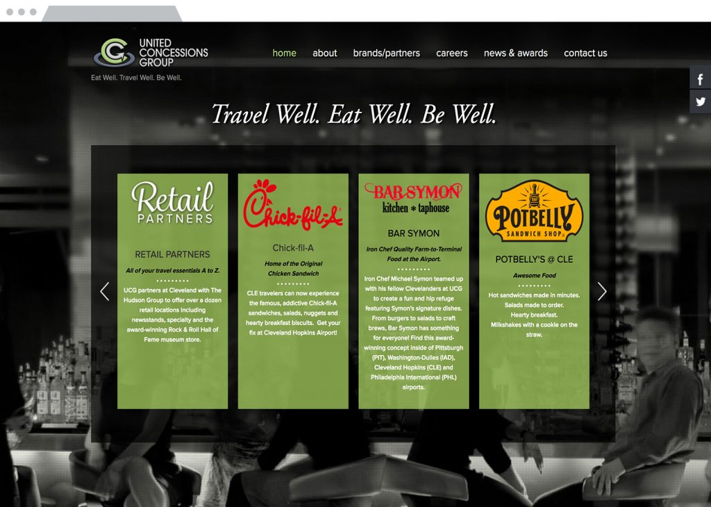 United Concessions Group Responsive Website Design